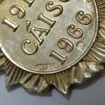 1916 Rising survivors medal detail