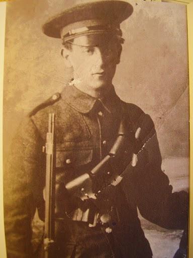 Irish Volunteer Gerald Keogh Easter week 1916