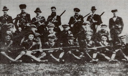 Third Tipperary Brigade Flying Column No. 2 under Sean Hogan during the War of Independence. Most of the IRA units in Munster were against the treaty. Hogan himself however did not participate in the Civil War.