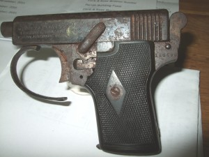 third West Cork Brigade Pistol