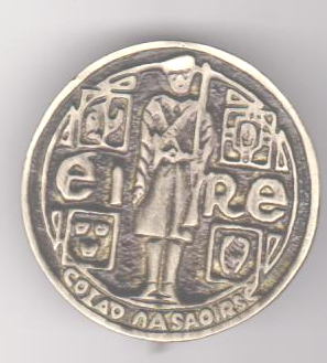 IRA Commemorative Pin Badge