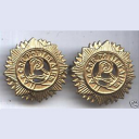 Irish Army MP Collar Badges