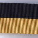 Black and Tan Medal Ribbon
