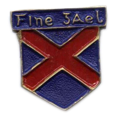 Blue Shirts Metal Badge