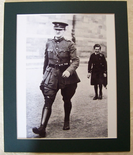 General Michael Collins Marching Photograph