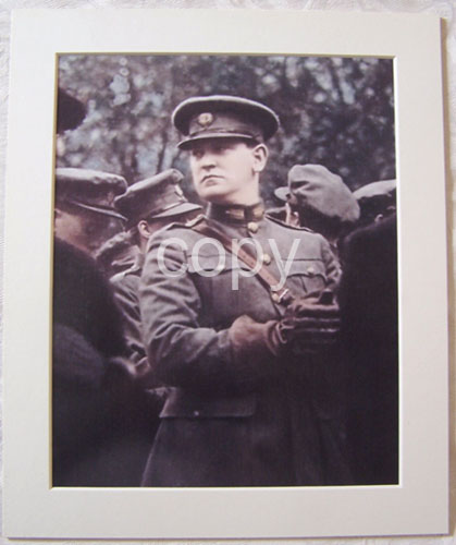 General Michael Collins Colour Photograph