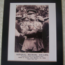 General Michael Collins Mounted Photograph
