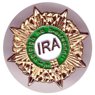 IRA Commemorative Badge