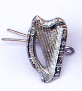 Irish Volunteers Harp Cap Badge