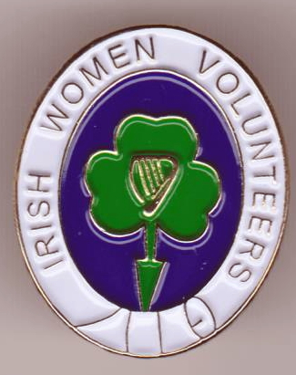 Irish Women Volunteers Badge