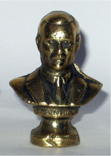 James Connolly brass bust