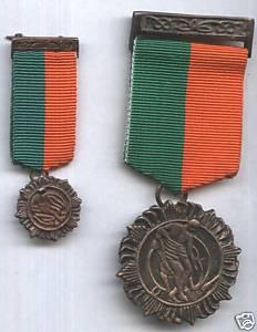 Miniature Irish 1916 Rising medal