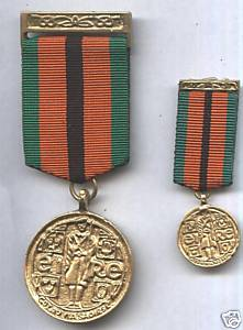 Miniature Survivors Medal