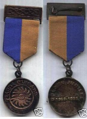 Reproduction Na Fianna Jubilee Medal 1909-1959