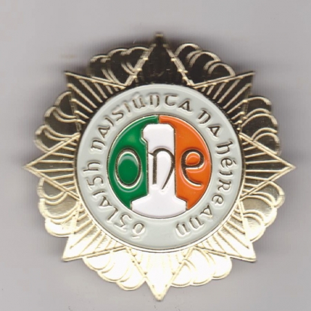 Irish Army Veterans Cap Badge