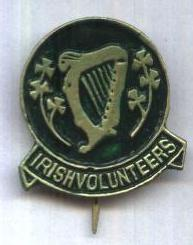 Irish Volunteers Badge