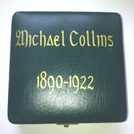 Michael collins medallion cased