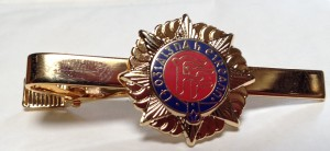 irish army tie pin