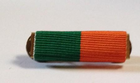 1916 rising medal ribbon bar
