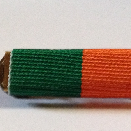 1916 rising medal ribbon bar