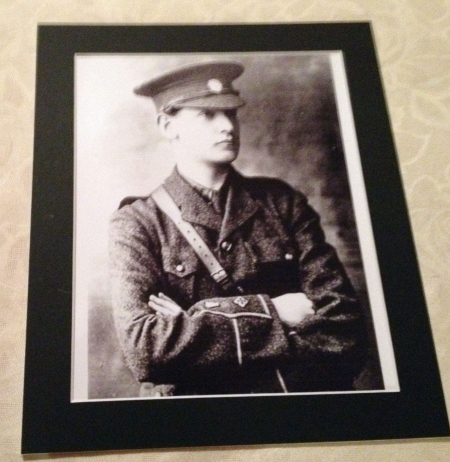 michael collins in uniform