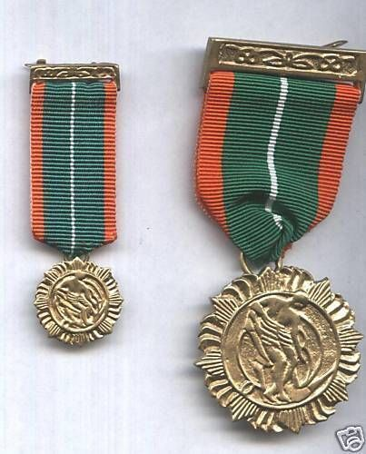 MINITURE IRISH 1916 Rising Survivors Medal