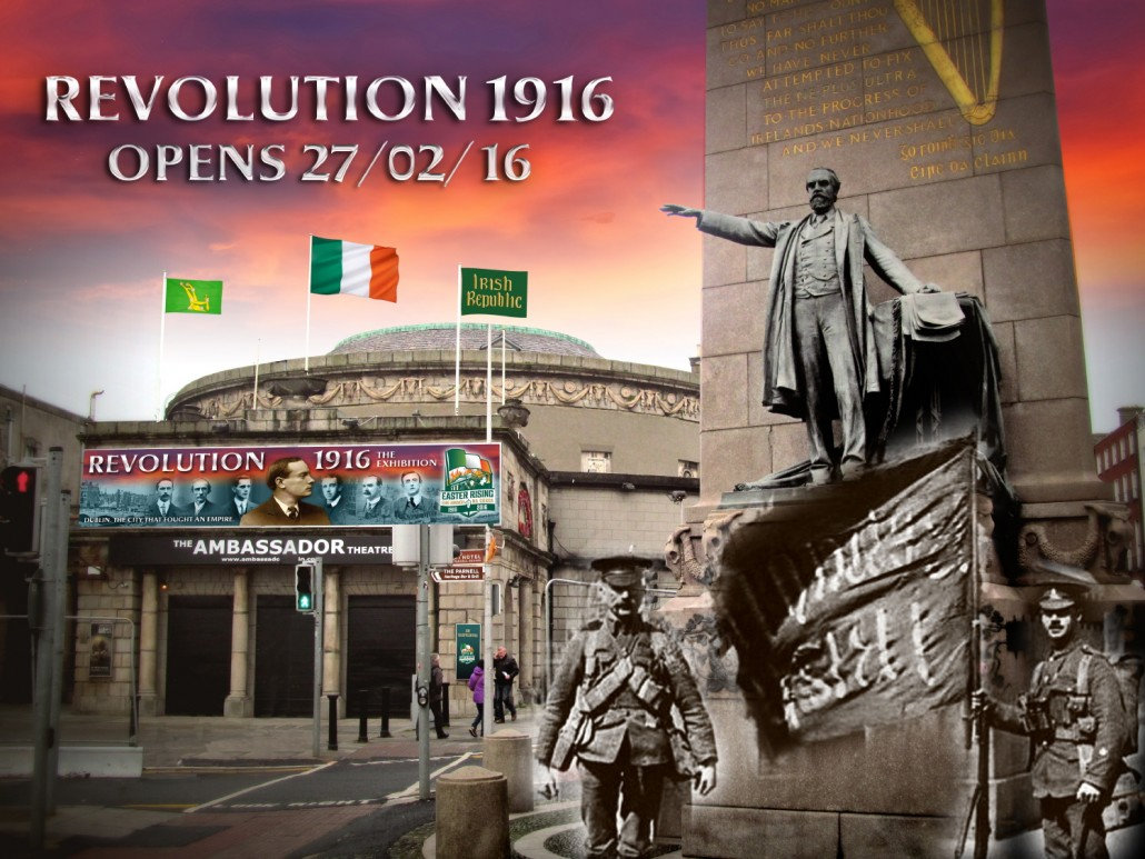 1916 rising exhibition