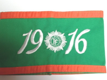 1916 rising armband embroidered