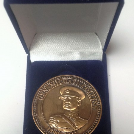michael collins 1916 medallion